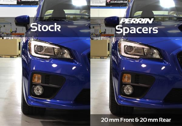 Perrin Subaru 5x114.3 20mm Wheel Spacers One Pair