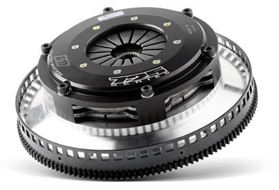 Clutch Masters - Clutch Masters FX700 Twin-Disc Clutch Kit w/ Steel Flywheel & Hydraulic Slave Cylinder