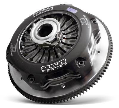 "Clutch Masters - Clutch Masters Street 8.5"" Twin Disc Clutch Kit w/ Steel Flywheel Pull Type"