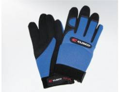 Cusco - Cusco Mechanic Glove Sky Blue/Black Large