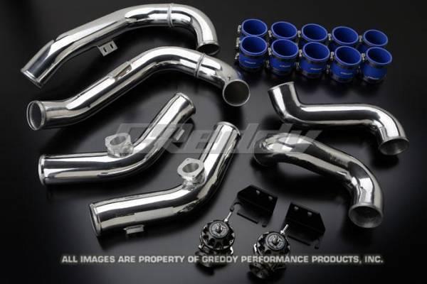 GReddy - GReddy Aluminum Piping and BOV Kit