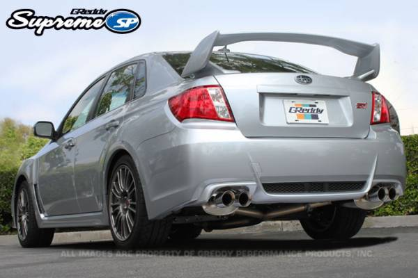 GReddy - GReddy Supreme SP Exhaust for WRX STI Sedan