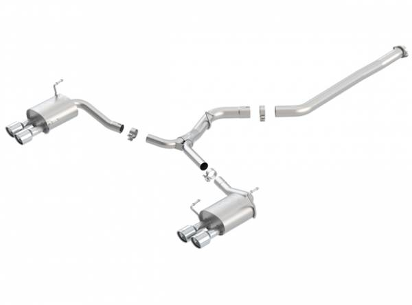 Borla - Borla Cat-Back Exhaust WRX & STI (Sedan)