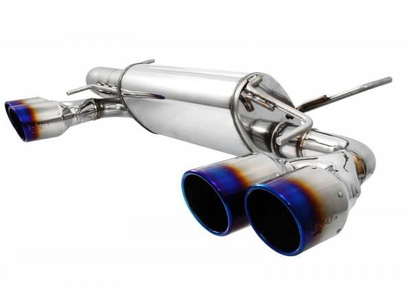 Injen - Injen AxleBack Exhaust w/ Titanium Tips WRX STI Hatchback