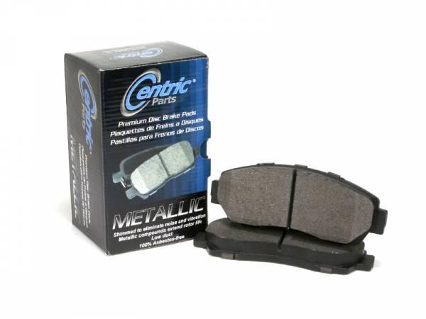 StopTech - Stoptech Centric Premium Semi-Metallic Rear Brake Pads