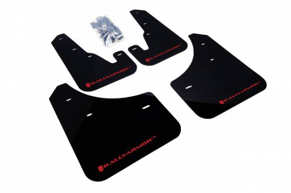 RallyArmor - Rally Armor 04-09 Mazda3 / Speed3 Mud Flap Red logo