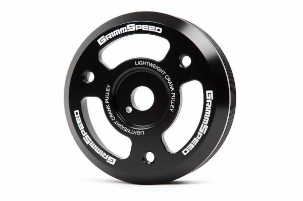 GrimmSpeed - GrimmSpeed Lightweight Crank Pulley