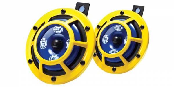Hella - Hella Sharptone Horn Kit 350Hz Yellow