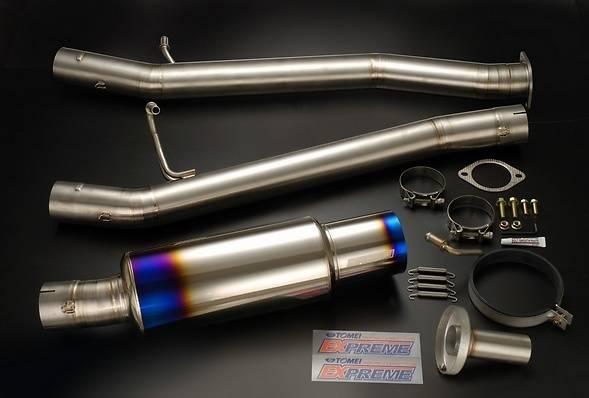 Tomei - Tomei Expreme Ti Titanium Catback Exhaust