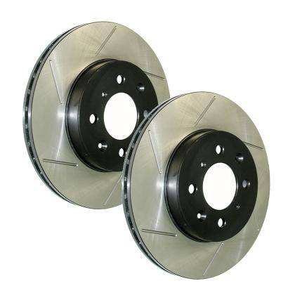 StopTech - Stoptech Powerslot Slotted Front Rotor Pair