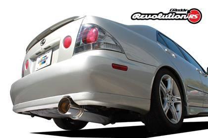 GReddy - GReddy RS Cat Back Exhaust