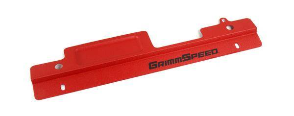 GrimmSpeed - GrimmSpeed Radiator Shroud Red