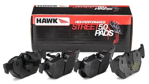Hawk Performance - Hawk High Performance Street 5.0 Brake Pads Front