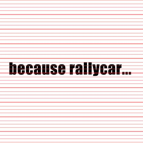Avery - Because Rallycar Decal