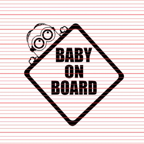 Avery - Baby on Board Minion Decal