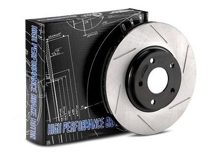 StopTech - StopTech Sport Slotted Rotor Front/Right