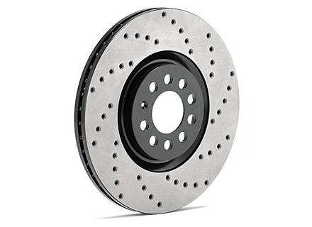 StopTech - StopTech Sportstop Drilled Rotor Front/Left