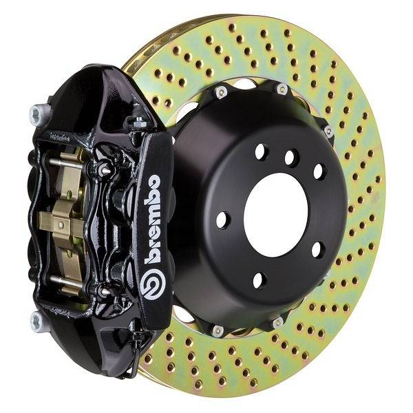 Brembo - Brembo GT 355MM Big Brake Kit Drilled Front