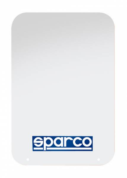 Sparco - Sparco White Universal Rally Mud Flaps (Pair)