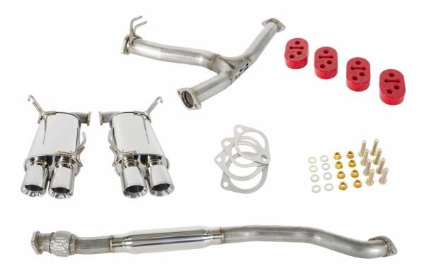 GrimmSpeed - GrimmSpeed Cat Back Exhaust System - Subaru WRX/STI 2011+