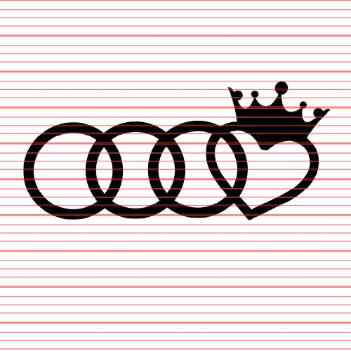 Avery - Audi Crown Decal