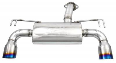 Exhaust Systems - Axle Backs - Injen - Injen Axleback Exhaust w/ Titanium Tips