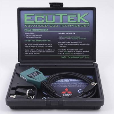 Engine Management - Plug-in Tuners - AVO Turboworld - AVO EcuTek Pro-ECU Kit Cable & License