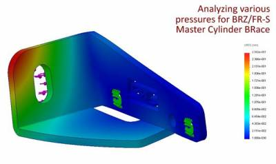 GrimmSpeed - GrimmSpeed Master Cylinder Brace - Image 5