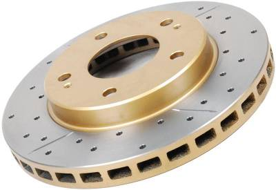 Brakes - Brake Rotors - Disc Brakes Australia - DBA Drilled & Slotted Street Series Rotor (Front)
