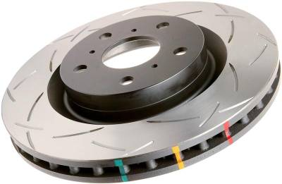 DBA Slotted T3 4000 Series Rotor (Front)