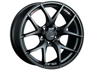 SSR - SSR GTV03 18x9.5 5x114.3 22mm Offset Flat Black Wheel