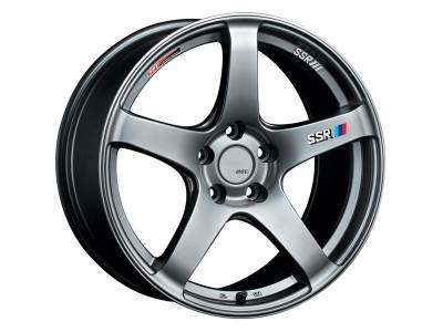 SSR - SSR GTV01 18x10.5 5x114.3 15mm Offset Phantom Silver Wheel