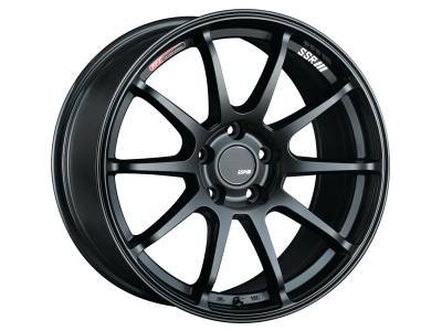 SSR - SSR GTV02 18x7.5 5x100 48mm Offset Flat Black Wheel
