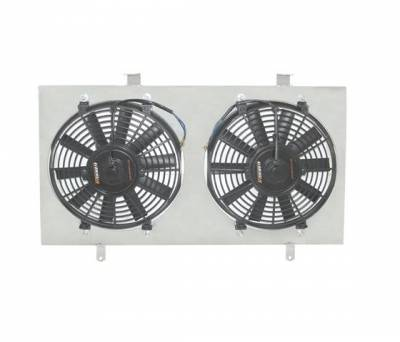 Cooling - Radiators - Mishimoto - Mishimoto Aluminum Fan Shroud Kit