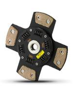 Clutch Masters - Clutch Masters FX400 Clutch Kit 4-Puck w/Aluminum Flywheel - Image 2