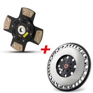 Clutch Masters - Clutch Masters FX400 Clutch Kit 4-Puck w/Steel Flywheel - Image 3