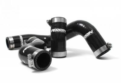 Perrin Black Radiator Hose Kit