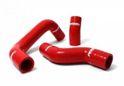 Perrin Red Radiator Hose Kit