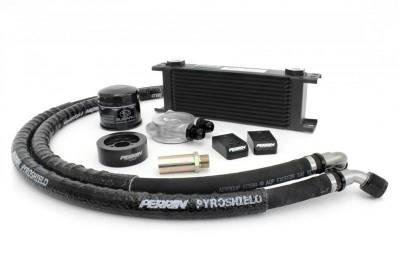 Cooling - Oil Coolers - Perrin Performance - Perrin Oil Cooler Kit