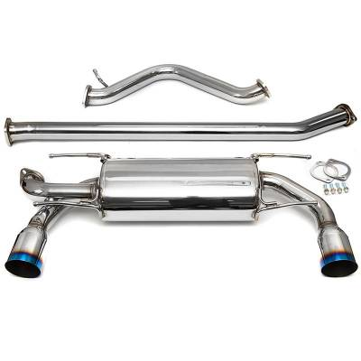 "EXHAUST - AVO Turboworld - AVO 2.5"" Stainless Steel Cat Back Exhaust (Turbo)"