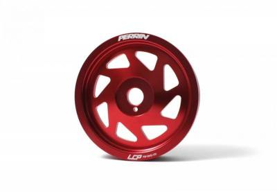 Engine Components - Pulleys - Perrin Performance - Perrin Crank Pulley (Red)