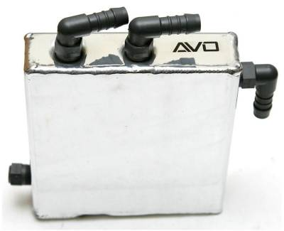 AVO Turboworld - AVO Breather Oil Catch Tank NA Setup