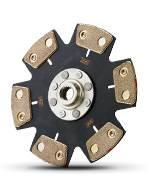 Clutch Masters - Clutch Masters FX500 Clutch Kit (6 puck) w/Steel Flywheel - Image 2