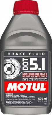 Fluids - Brake Fluids - Motul - Motul 1/2L Brake Fluid DOT 5.1