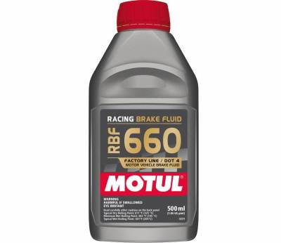 Fluids - Brake Fluids - Motul - Motul 1/2L Brake Fluid RBF 660 - Racing DOT 4
