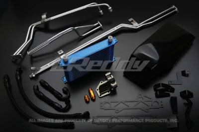GReddy - GReddy Dual Clutch Transmission Cooler Kit - Image 1