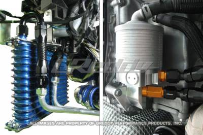 GReddy - GReddy Dual Clutch Transmission Cooler Kit - Image 2