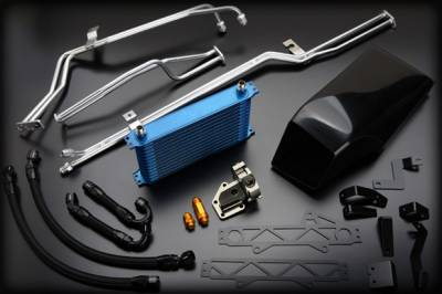 Cooling - Oil Coolers - GReddy - GReddy Dual Clutch Transmission Cooler Kit