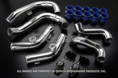 Forced Induction - Blow Off Valves - GReddy - GReddy Aluminum Piping and BOV Kit