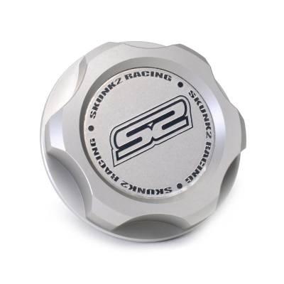 Skunk2 Silver Billet Oil Cap - Honda/Acura
